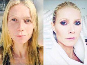 Gwyneth Paltrow : naturelle VS maquillée, c'est le jour et la nuit !