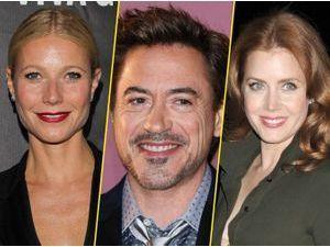 Gwyneth Paltrow, Robert Downey Jr et Amy Adams : présentateurs pour les Golden Globes !