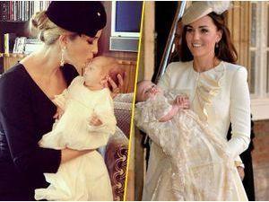 Ivanka Trump : pour son baptême, son fiston rivalise en robe avec le Prince George !