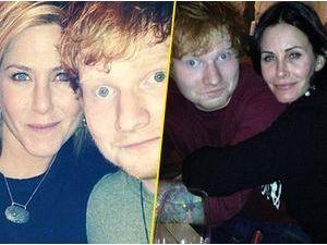 "Jennifer Aniston et Courteney Cox ""redonnent foi"" en Hollywood selon Ed Sheeran !"