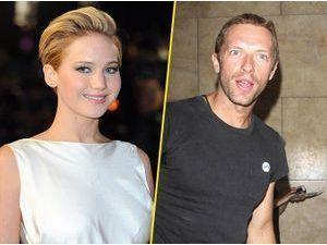 """Jennifer Lawrence et Chris Martin : ensemble, """"ils n'arrêtent pas de se marrer"""" !"""