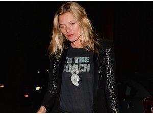 Kate Moss : ivre, elle essaie de soudoyer EasyJet !