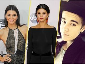 Kendall Jenner : triangle amoureux avec Selena Gomez et Justin Bieber !