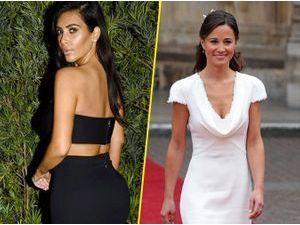 Kim Kardashian : Pippa Middleton tacle ses fesses ? Elle veut les faire réduire !