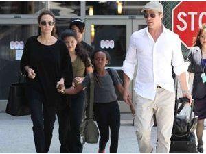 """Brad Pitt : """"il n'aime pas Angelina mais il reste pour les enfants"""" !"""