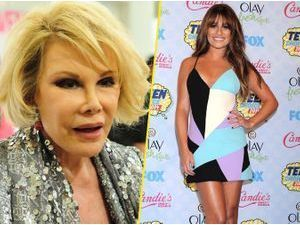 Lea Michele : insultée d'actrice porno bas de gamme à la télévision par Joan Rivers !