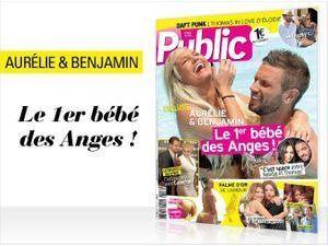 Magazine Public : Aurélie et Benjamin en couverture !
