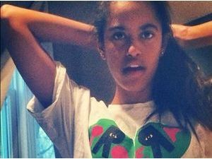Malia Obama : LA photo qui fait scandale !