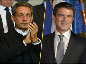 """Manuel Valls tacle Nicolas Sarkozy : """"Il n'est pas beau !"""""""