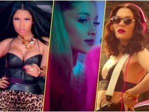 Nicki Minaj, Ariana Grande, Jessie J : un trio très girly pour promouvoir les Beats by Dre !