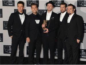 NSync : Justin Timberlake et les anciens membres du groupe sont de retour !