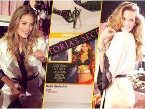 Exclu Public : Victoria's Secret Fashion Show 2014 : l'effervescence des backstage avec Doutzen Kroes, Izabel Goulart, Adriana Lima... On y était !