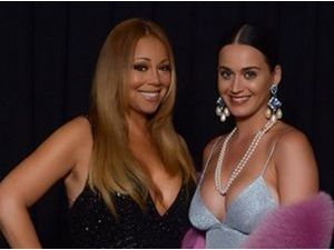 Photo : Katy Perry prend son pied au concert de Mariah Carey !