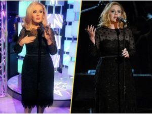 Photos : Adele : sa statue de cire plus fine que la version originale !