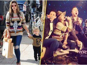 Photos : Alessandra Ambrosio : après une séance shopping, elle se la joue rock star et pousse la chansonnette !