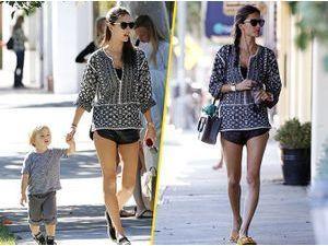 Photos : Alessandra Ambrosio : businesswoman mais surtout maman dévouée !
