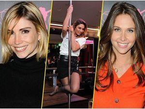 Photos : Alexandra Rosenfeld, Ariane Brodier, Ophélie Meunier... Toutes fans de pole dance !