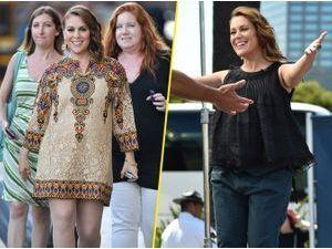 """Photos : Alyssa Milano : en pleine promotion de """"Mistresses"""", l'actrice enceinte enchaîne les interviews avec entrain !"""