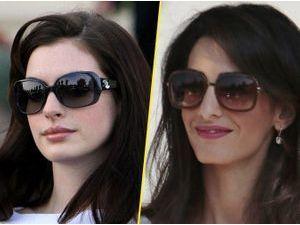 Photos : Anne Hathaway et Amal Clooney se ressemblent-elles ? A vous de juger !
