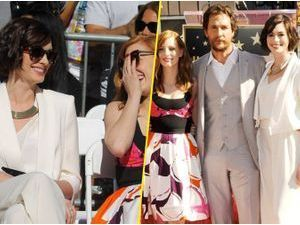 Photos : Anne Hathaway et Jessica Chastain : supportrices de choc pour Matthew McConaughey !