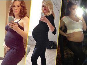 Photos : Après les selfies, les (futures) mamans stars se mettent aux bumpies !