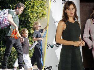 Photos : Ben Affleck s'occupe des enfants pendant que Jennifer Garner travaille ! Ça change !