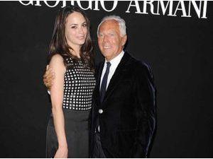 Photos : Bérénice Béjo : au côté du célèbre Giorgio Armani pour célébrer la mode à Rome !