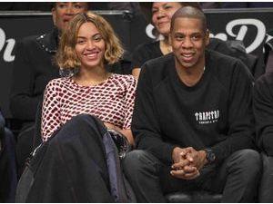 Beyoncé et Jay Z : aux premières loges pour soutenir les Nets de Brooklyn !