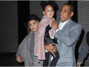 Photos : Beyoncé et Jay-Z : soirée ciné VIP avec leur adorable Blue Ivy !