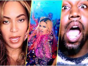 """Photos : Beyoncé, Madonna, Kanye West… La bombe """"B*tch i'm Madonna"""" est lâchée !"""