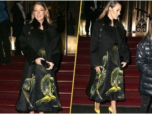 Photos : Blake Lively : une jeune maman qui s'attire tous les regards à la Fashion Week !
