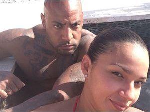 Photos : Booba : loin des récentes polémiques, il roucoule et fait trempette avec sa belle Patricia !
