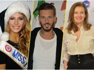 Photos : Camille Cerf : première mission de Miss France 2015 avec M. Pokora et Valérie Trierweiler !