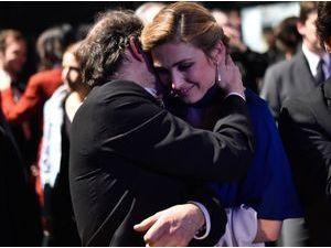 Photos : César 2015 : Julie Gayet : elle partage une grande complicité avec Denis Podalydes !