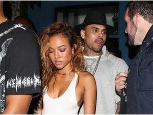 Photos : Chris Brown et Karruche Tran : soirée festive à L.A. pour les amoureux !
