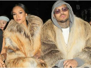 Photos : Chris Brown et Karrueche Tran : un couple au poil pour Michael Costello !
