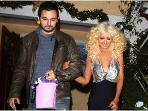 Photos : Christina Aguilera : diva super sexy pour fêter la fin de The Voice avec son homme !