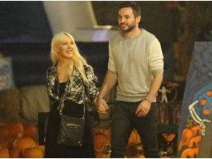 Photos : Christina Aguilera : une chasse à la citrouille placée sous le signe de l'amour !