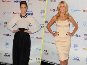 Photos : Coco Rocha et Heidi Klum : un duo hypnotique pour honorer les K.I.D.S/Fashion Delivers !