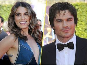 Photos : Creative Arts Emmys 2014 : Nikki Reed et Ian Somerhalder : séparés sur le tapis rouge mais bien ensemble backstage !