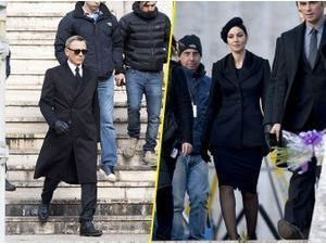 Photos : Daniel Craig et Monica Bellucci : duo mortel sur le tournage de James Bond !