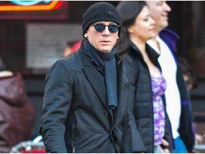 Photos : Daniel Craig méconnaissable dans le froid de la Grande Pomme !