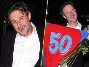 Photos : David Arquette : un Bugs Bunny bling-bling !