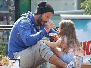 Photos : David et Harper Beckham : un duo père-fille qui va vous faire craquer !
