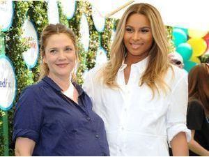 Photos : Drew Barrymore et Ciara : copines de grossesse !
