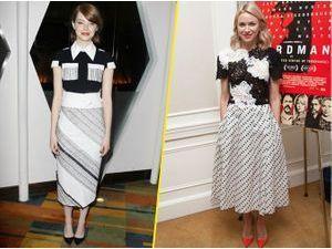 Photos : Emma Stone et Naomi Watts : un duo de charme pour la promotion de Birdman !