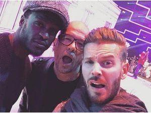 Photos : Enfoirés 2015 : M.Pokora, Corneille, Amel Bent... Répétitions jusqu'au bout de la nuit !