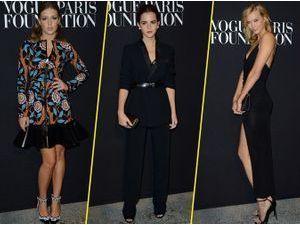 Photos : Fashion Week HC : Adele Exarchopoulos, Emma Watson, Karlie Kloss : défilé de stars à la soirée Vogue !
