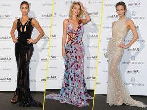 Photos : Fashion Week : Irina Shayk, Rosie Huntington-Whiteley, Natasha Poly… le défilé continue à l'amfAR !