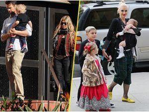 Photos : Fergie : comme Gwen Stefani, elle emmène sa famille à la messe et dévoile sa carte de voeux !
